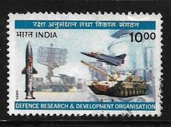 India 1999 Defence Research & Development Organization DRDO 100p Used Stamp # AR:158 - India