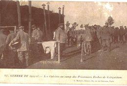 CPA N°7340 - GUERRE DE 1914-15 - LES CUISINES AU CAMP DE PRISONNIERS BOCHES DE COETQUIDAM -56 - MILITARIA 14-18 - Guerre 1914-18