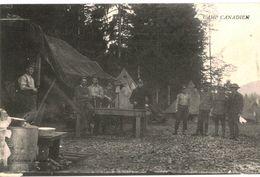 CPA N°7341 - CAMP CANADIEN - MILITARIA 14-18 - Oorlog 1914-18