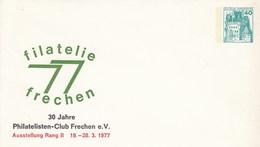 PU 110/17**  Filatelie 77 Frechen - 30 Jahre Philatelisten-Club Frechen E.V., Ausstellung Rang II - Privatumschläge - Ungebraucht