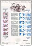 """Document Officiel De 1989 N° 13-89 """" REVOLUTION FRANCAISE : PERSONNAGES CELEBRES """" N° YT BC2570. DPO - Franz. Revolution"""