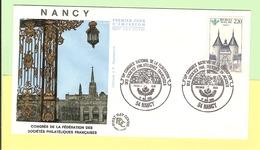 1er Jour 1986. 17 Mai. Congres De Nancy. Cote 2013. 2.00 €.ttb - FDC