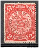 China Chine : (1156) 1898 Empire SG110* - Neufs