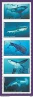 U.S.A 2017. Scott #. CINQ REQUINS & FÜNF HAIE & FIVE SHARKS. Neuf, Postfrisch, MNH-VF (**) - Neufs
