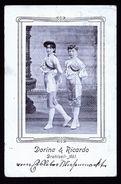A4838) Ansichtskarte Dorina & Ricardo Drahtseil-Akt 4.10.1907 - Zirkus