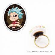 """Nanatsu No Taizai ( The Seven Deadly Sins ) Acrylic Ring """" Ban """" - Rings"""