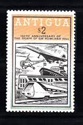 Trein, Train, Locomotive, Railway: Antigua 1979 Mi Nr  532 Postfris - Treinen