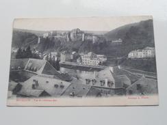 Vue Du Château-fort ( A. Florin ) Anno 1908 ( Zie Foto Details ) !! - Bouillon