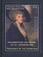 """Micronesia 2004 Mi 1507 ** """"Mrs. Greer"""" By George Romney / Gemälde - Hermitage - Kunst"""