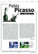 """DPO 1998 Document Officiel 21 98 506 """" PABLO PICASSO """" N° YT 3162. Parfait état. - Picasso"""