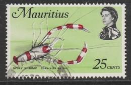 Mauritius 1969 Marine Life 25c Multicoloured - Mauritius (1968-...)