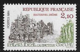 TIMBRE N° 2324   FRANCE - NEUF -   PALAIS FACTEUR CHEVAL -  1984 - France