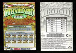 Gratta E Vinci - Miliardario - Lotto 29 - Lottery Loterie Loteria Lotterie - Billetes De Lotería
