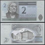 Estonia DEALER LOT ( 10 Pcs ) P 85 B - 2 Krooni 2007 - UNC - Estonia