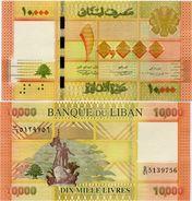 LEBANON       10,000 Livres       P-92a       2012       UNC  [ 10000 ] - Libano