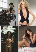 4 CP - Femmes - Negritude - Einladung ! Défilé 2008 'Noir Désir) 2007 Wird Schön    (98787) - Fashion