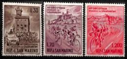 NB- Saint-Marin 1965 - N° 642/44, Giro D'Italie, SC, Sports, Cyclisme - Ciclismo