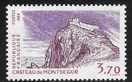 TIMBRE N° 2335   FRANCE - NEUF -   CHATEAU DE MONTSEGUR  -  1984 - Frankreich