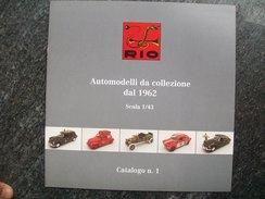 CATALOGO  RIO AUTOMODELLI Scala 1/43 - Catalogues