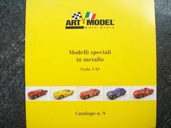 CATALOGO N°9  ART MODEL  AUTOMODELLI  FERRARI  Scala 1/43 - Catalogues