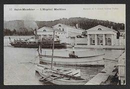 SAINT MANDRIER Glacée L'Hôpital Maritime (Clavel) Var (83) - Saint-Mandrier-sur-Mer