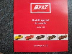 CATALOGO N°12  BEST  MODEL  AUTOMODELLI  FERRARI  Scala 1/43 - Catalogues