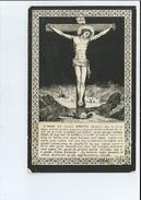 EDUARD DE BOEVER ECHTG STEFANIE BOSSCHAERT ° MELSEN ( MERELBEKE ) 1840 + POESELE ( NEVELE ) 1903 - Images Religieuses