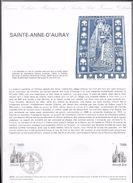 Document Des Postes - Sainte -Anne-D'auray 04 Juillet  1981 - Documents De La Poste