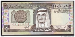 Saudi Arabia 1 Riyal 1984 P21d UNC - Saoedi-Arabië