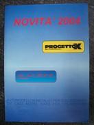 CATALOGO  2004   PROGETTO K AUTOMODELLI  FIAT  ALFA .... Scala 1/43 - Catalogues