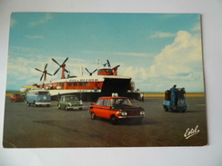 Calais - Aéroglisseur - Hoverlloyd - Mini- VW Combi - Calais