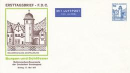PU 116/7** Ersttagsbrief F.D.C. Wasserschloss Mespelbrunn Mit 70 Pf Burgen Und Schösser - Privatumschläge - Ungebraucht