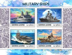 Sierra Leone. 2017 Military Ships. (702a) - Boten
