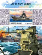 Sierra Leone. 2017 Military Ships. (702b) - Schiffe