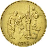 West African States, 10 Francs, 1982, Paris, TTB, Aluminum-Bronze, KM:10 - Ivory Coast