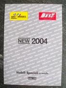 PIEGHEVOLE ART MODEL NOVITA'  2004  AUTOMODELLI IN SCALA 1/43   FERRARI  PERFETTO - Catalogi