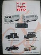 PIEGHEVOLE  RIO  AUTOMODELLI IN SCALA 1/43    PERFETTO - Catalogi