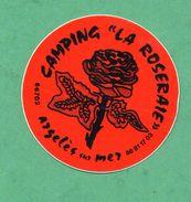 CAMPING LA ROSERAIE ARGELES SUR MER /  AUTOCOLLANT - Autocollants