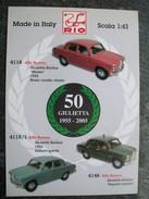 PIEGHEVOLE  RIO  AUTOMODELLI IN SCALA 1/43   ALFA ROMEO  PERFETTO - Catalogues