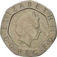 Grande-Bretagne, Elizabeth II, 20 Pence, 2002, TTB, Copper-nickel, KM:990 - 1971-… : Monnaies Décimales