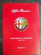 CATALOGO  N°2   M4  AUTOMODELLI  In Scala 1/43  ALFA  ROMEO. Scala 1/43 - Catalogues