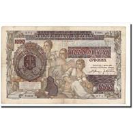 Serbie, 1000 Dinara On 500 Dinara, 1941-05-01, KM:24, TB - Serbie