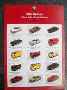 PIEGHEVOLE  2008/1   M4  AUTOMODELLI  In Scala 1/43  ALFA  ROMEO. Scala 1/43 - Catalogues