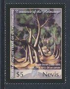 "Nevis 2004 Mi 1952 ** ""Grove"" (1912) By André Derain / Gemälde - Hermitage - Kunst"