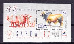 """South Africa 1997 Sapda """"Afrikander"""" M/s ** Mnh (36677D) - Blokken & Velletjes"""