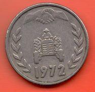 ARGELIA - ALGERIA = 1 DINAR 1972 - Argelia