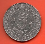 ARGELIA - ALGERIA = 5 DINAR 1974 - Argelia