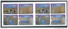 SPANIEN ESPAÑA SPAIN 2015 CARNÉ ARCOS Y PUERTAS 8 X A ED C4924-27 YV C4636-39 MI C4931-34 - Militärpostmarken