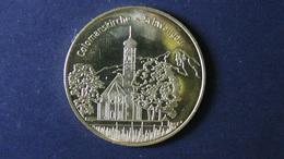 Germany - Colomanskirche Schwangau / Camping Bannwaldsee - Look Scans - Pièces écrasées (Elongated Coins)