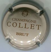 CAPSULE-CHAMPAGNE COLLET N°05 Marron Clair & Gris BRUT - Sonstige